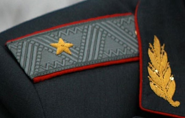 Погон генерала Папоненко