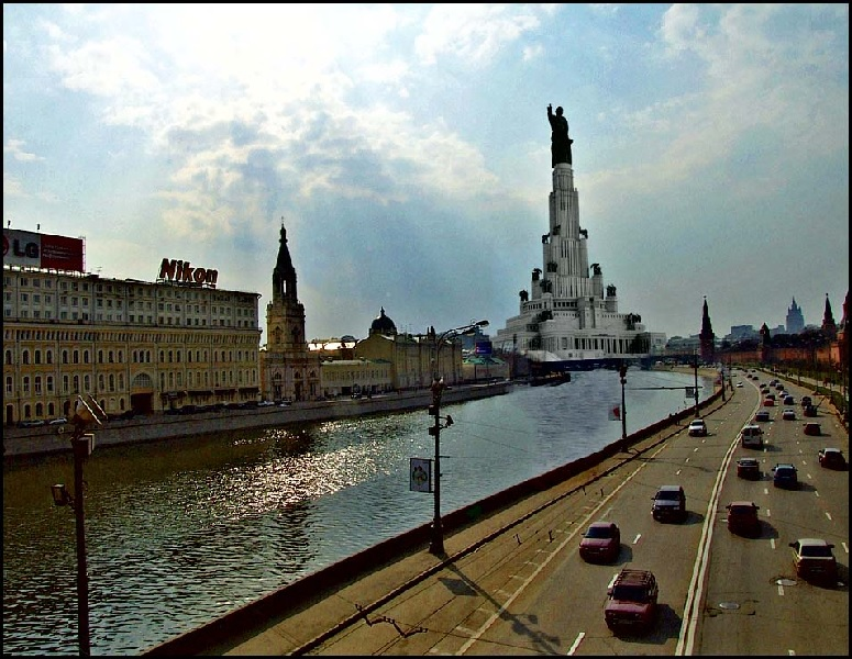 Дворец Советов Dvorec sovetov