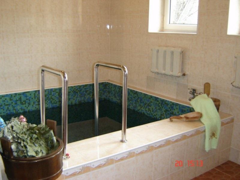 Купель в моей бане