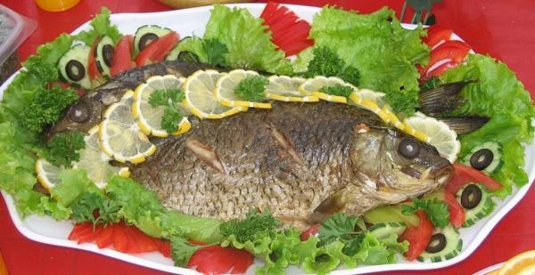 Меню из рыбных блюд