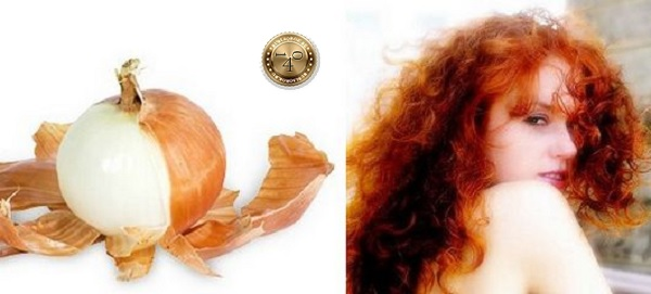 луковая шелуха для волос