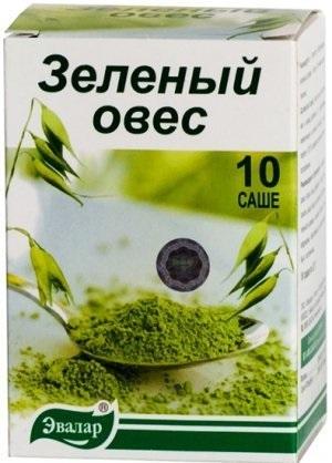 Упаковка зеленого овса