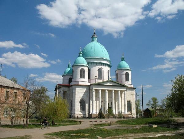Восстановленный Свято-Троицкий собор