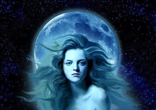 Греческая богиня Луны