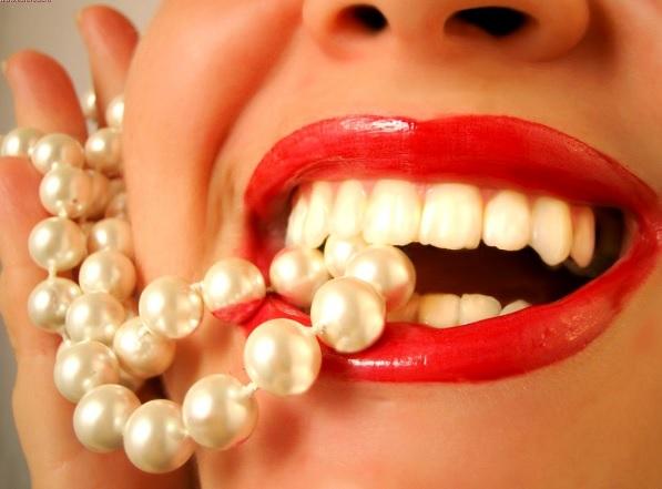 Зубы как жемчуг