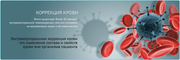 Экстракорпоральное очищение крови