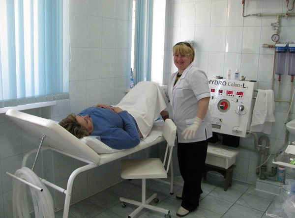 Проведение гидроколонотерапии