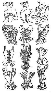 Средневековые корсеты