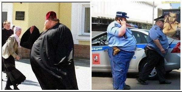 Толстые мужчины