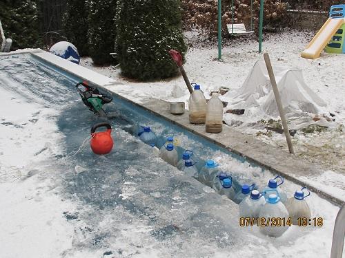 Когда вовремя не подготовил бассейн