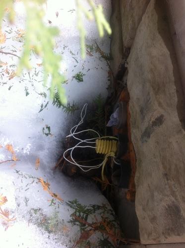 Отводящая труба с термопроволокой