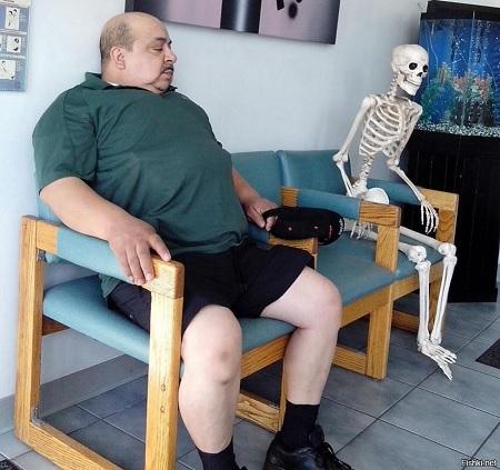 Толстяк и скелет