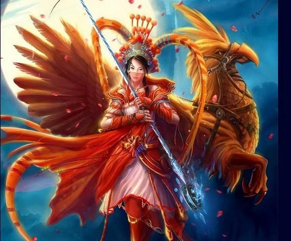 Богиня Солнца Аматерасу