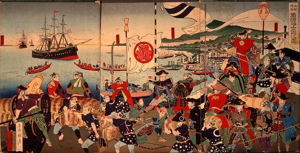 Черная эскадра в Японии
