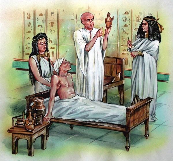 Врачи древних египтян
