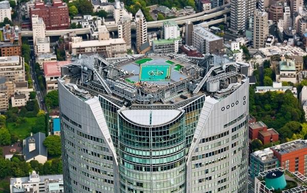 Площадка для вертолетов на 54 -м этаже