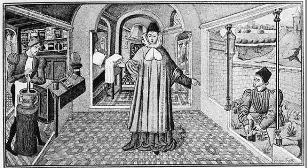 Врачи в Средние века