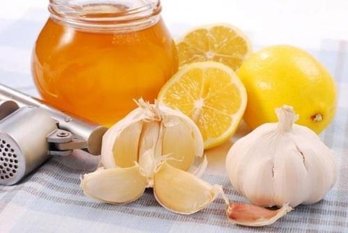 Чеснок, мед, лимон для поднятия иммунитета