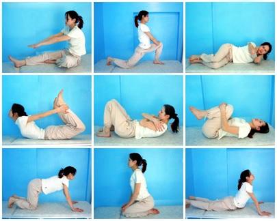 Упражнение для профилактики сколиоза
