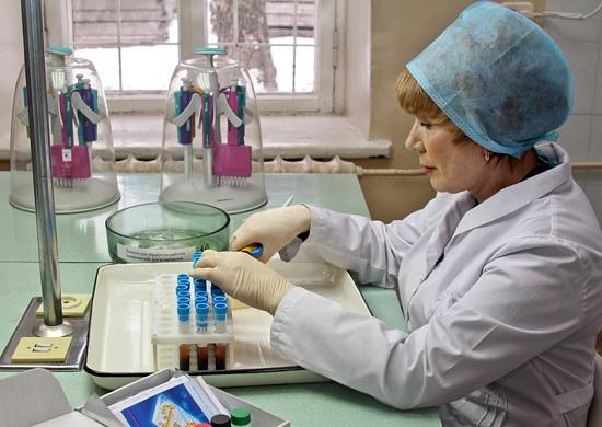 Исследование анализов на брюшной тиф