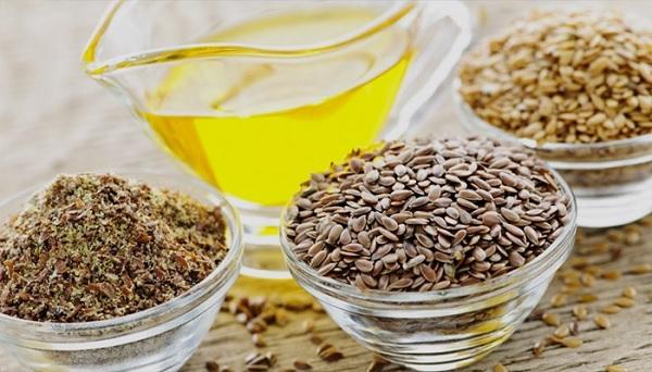 Лен и оливковое масло