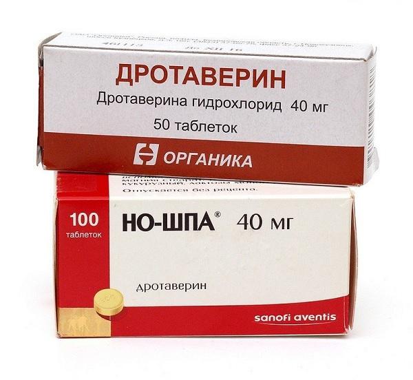 препараты от спазма желудка и сосудов