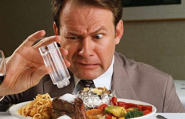 Причины гипертонии количество соли в пище