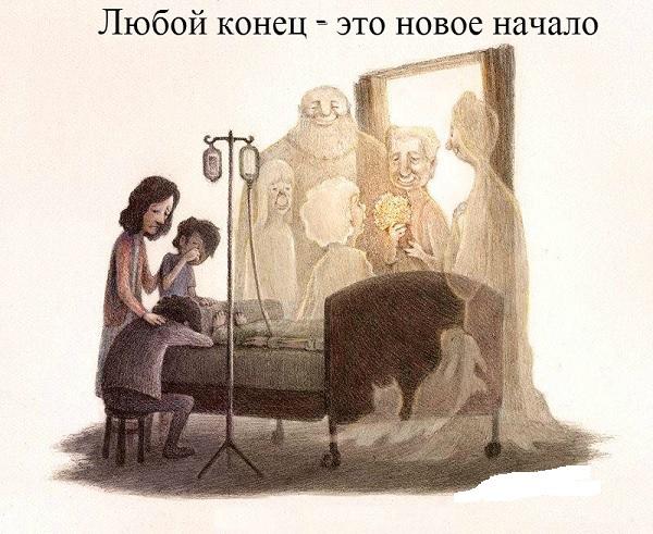 Встреча с родными после смерти