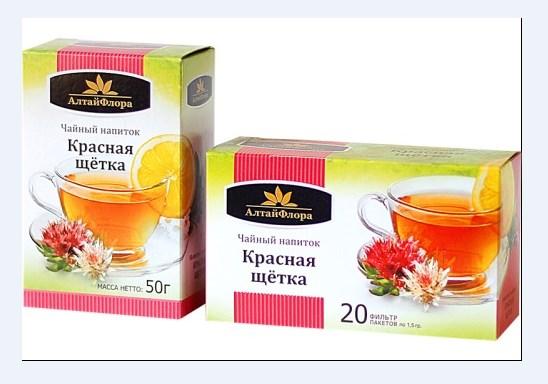 Чай Красная щетка