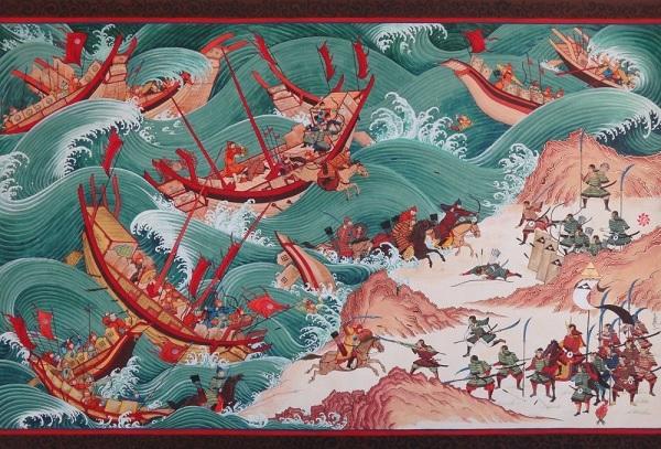 Нападение монголов на Японию