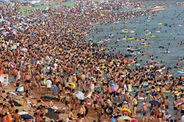Пляж в Японии
