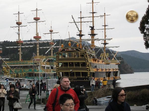 Приплыли в порт