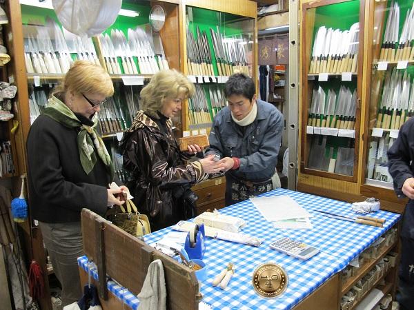 Покупка ножа для чистки рыбы