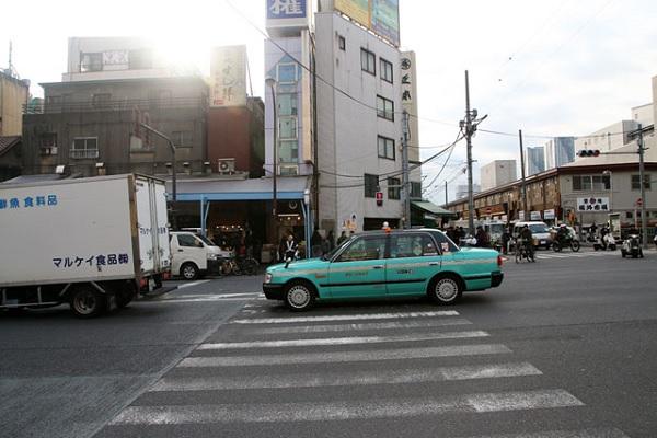 Рынок морепродуктов Цукидзи в Токио