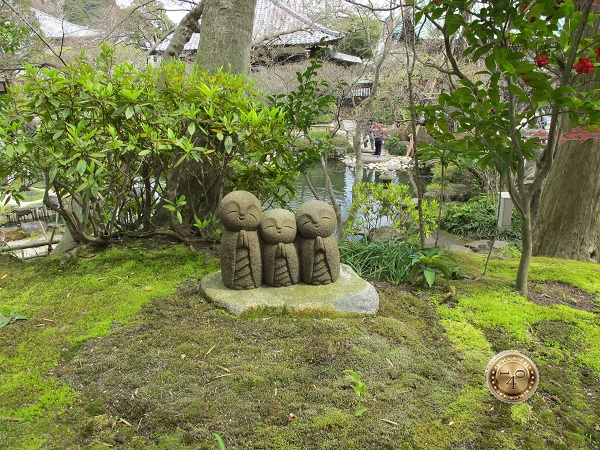 Скульптура Нагоми Джизо