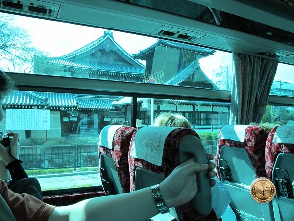 По пути в гостиницу г. Киото