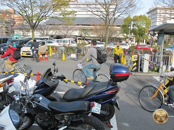 Стоянка велосипедов и мотоциклов