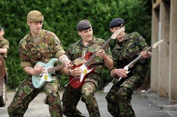 Рок-группа из лагерей
