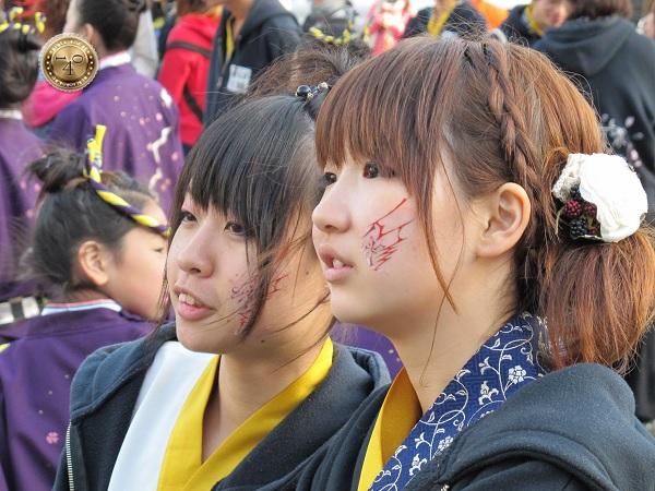 Подростки-японки