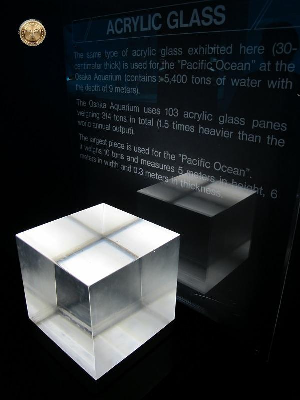 Кусок акрилового стекла