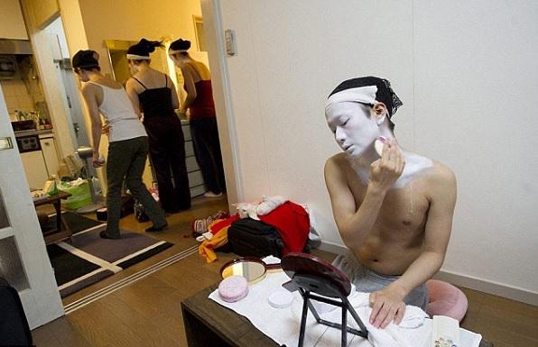 Единственный в Японии гейша-мужчина