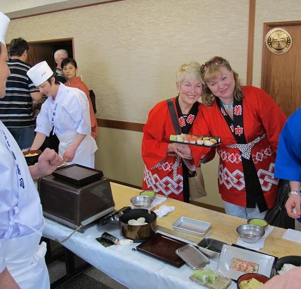 Готовое суши
