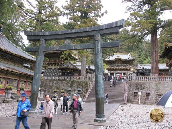 Хонден-главное здание святилища Тосёгу