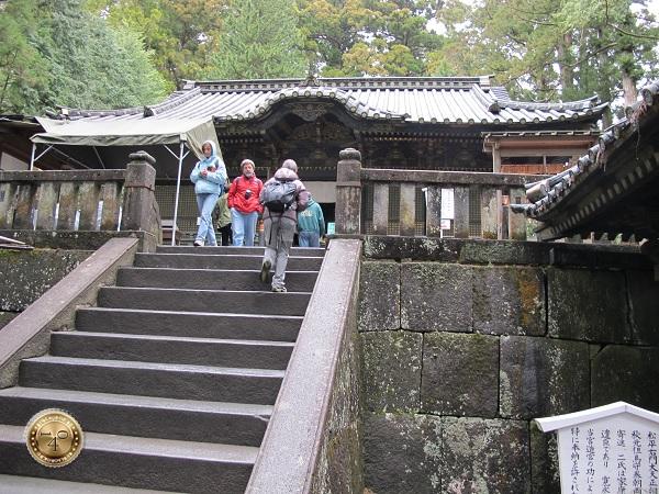 Последние ступени на пути к могиле Токугавы