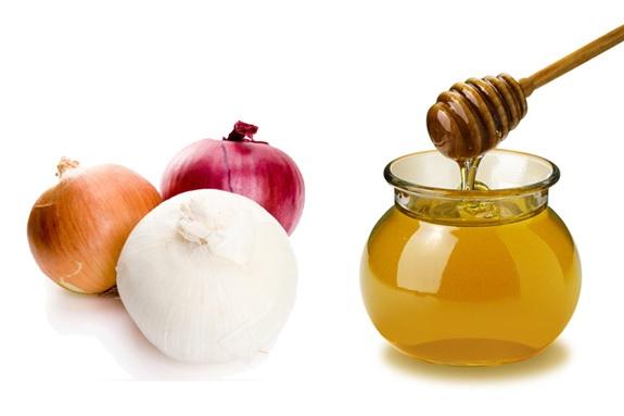 Отвар лука с медом