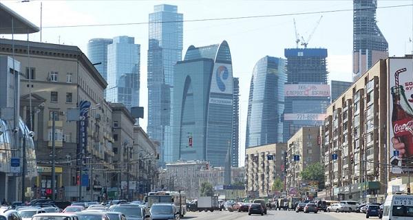 Вид на Москва-Сити и Кутузовский проспект