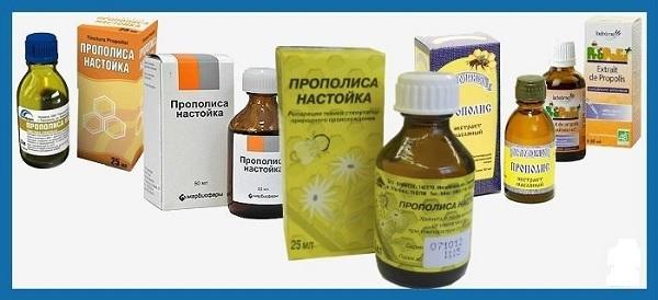 Настойка прополиса для иммунитета