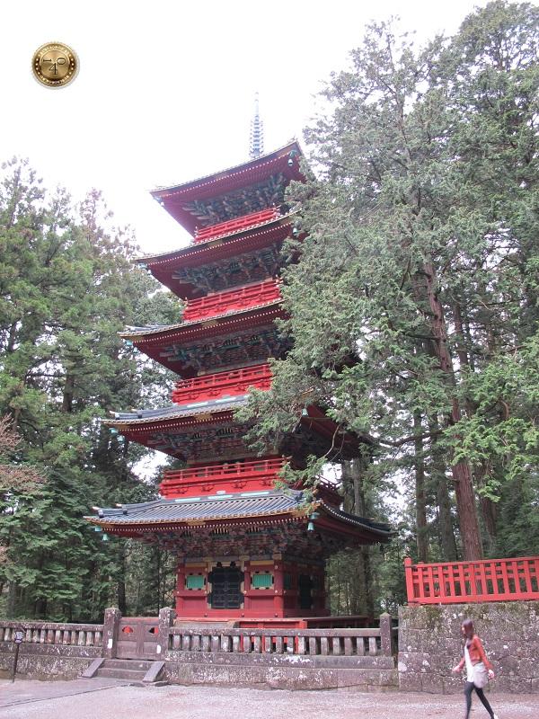 Пагода на территории святилища Тосёгу