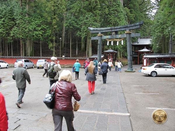 Вход в святилище Тосёгу