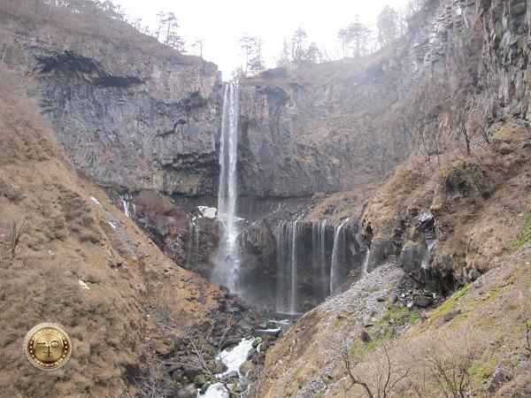 Водопад Кэгон в парке Никко